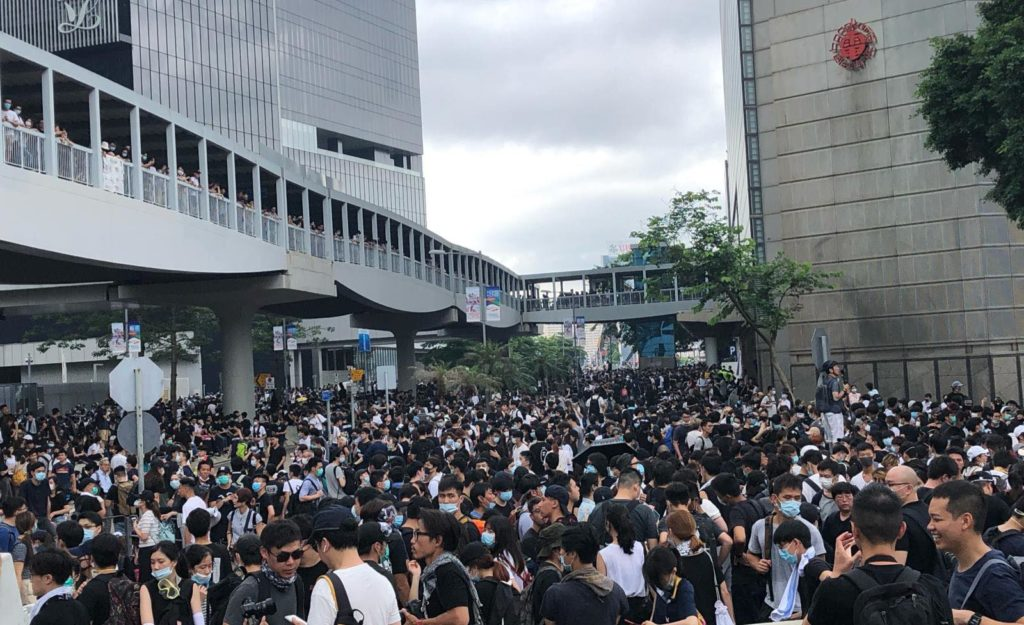 Hong Kong protests against extradition bill